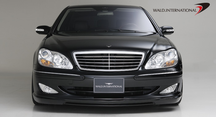 Wald International Version 3 Front Bumper Mercedes S350 / S430 00-06 - W220V3.FB.00