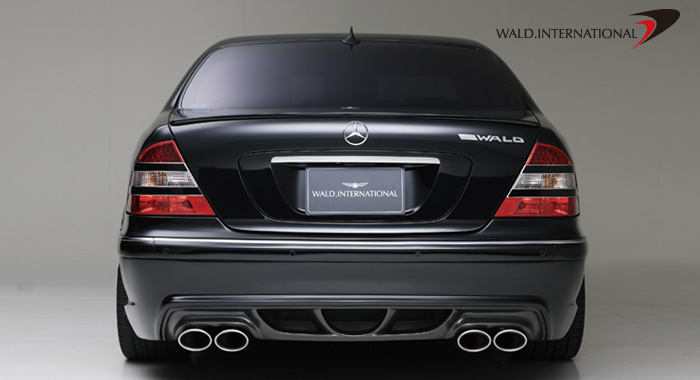 Wald International Version 3 Rear Bumper Mercedes S500 / S600 00-06 - W220V3.RB.00