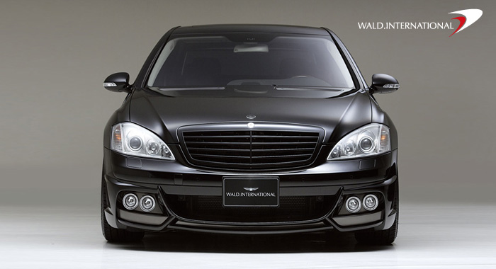 Wald International Black Bison Aerodynamic Body Kit Mercedes S550 S600 07-09 - W221.BB.SET