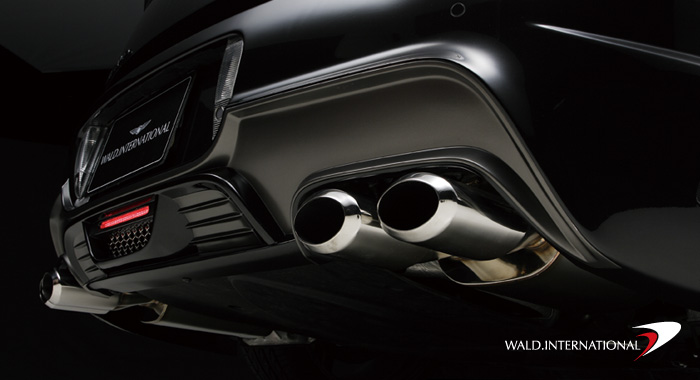 Wald International Black Bison Exhaust Tips Bentley Continental GT Speed 04-07 - BGT.BB.ES