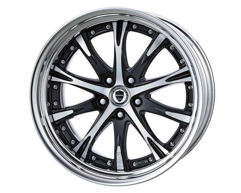 Work Schwert SC4 Step Rim Wheel 20x8.0 5x120 - WW-SC4-SR-20.80.120