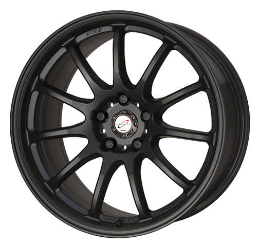 Work Emotion 11R Wheel 18x9.5 5x114.3 Matte Black - WRK11R18955X1143MBL