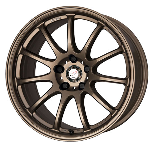 Work Emotion 11R Wheel 18x7.5 5x114.3 Matte Bronze - WRK11R18755X1143MHG